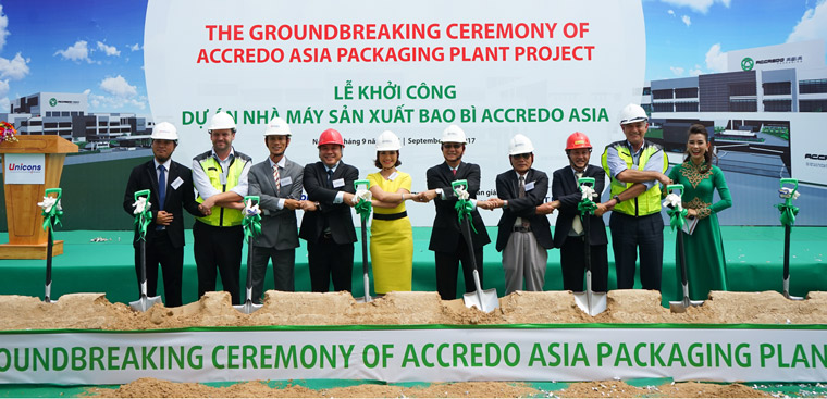 Ground breaking Asia