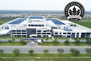 Accredo Asia facility with LEED